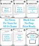 Football Reading Activity: SAMPLE Team Mini-Packets Footba