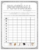 Football Roll and Graph Activity