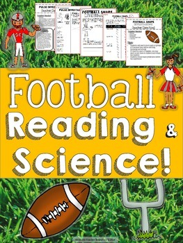 Football Science & Reading Learning Activities {2nd- 5th Grade}