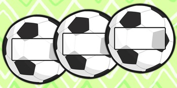 Football Self Registration Labels