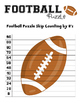 Football 2 to 12 Skip Counting Puzzles
