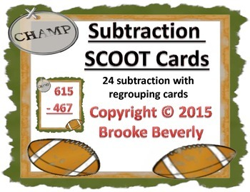 Football Subtraction SCOOT