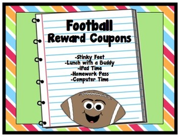 Football Theme Reward Coupons