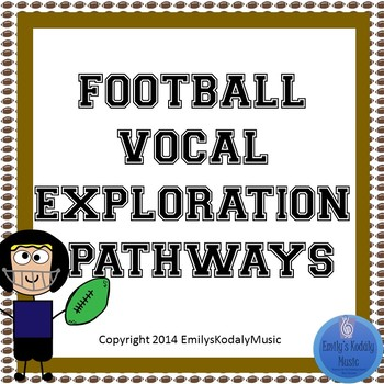 Football Themed Vocal Explorations