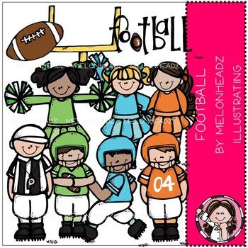 Melonheadz: Football clip art - COMBO PACK