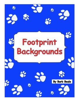 Footprint Backgrounds - 13 files
