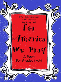 For America We Pray: A Poem for Grades 3,4,&5