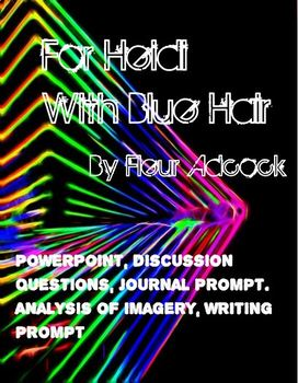 For Heidi With Blue Hair Reading Questions and Writing Prompt
