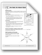 For Sale: An Alarm Clock