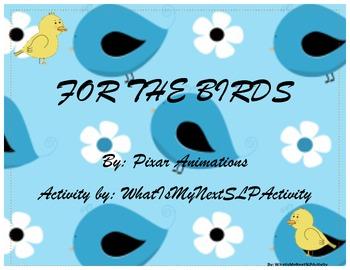 For the Birds Speech Activity
