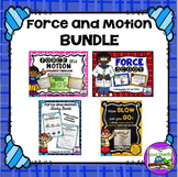 Force Unit- Force and Motion Unit BUNDLE