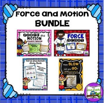 Force Unit- Force and Motion Unit BUNDLE