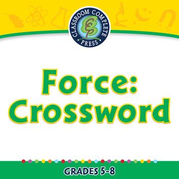 Force: Crossword - PC Gr. 5-8