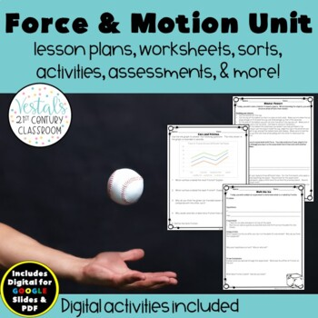 Force, Motion, & Energy Unit