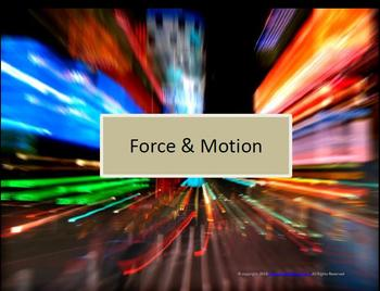 Force & Motion (Interactive Notebook & more)