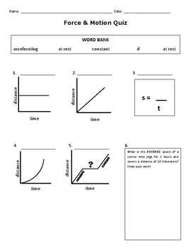 Force & Motion Quiz MOD