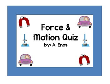 Force & Motion Quiz1
