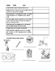 Force, Motion, and Simple Machines Quiz/Test