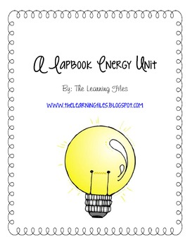 Force and Energy Lapbook Unit