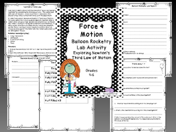 Force and Motion Complete Unit - Forces and Newton's Laws