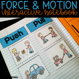 Force and Motion Interactive Science Notebook {Kindergarten}