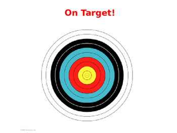 Force and Motion STEAM (STEM with art) activity - On Target