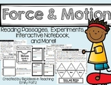 Force and Motion Unit ~ Close Reading, Experiments, & Inte