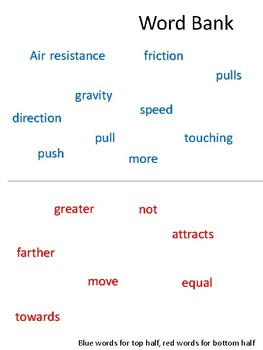 Force/Motion Review