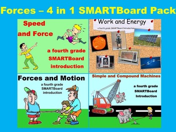 Forces - 4 in 1 SMARTBoard Combo Pack