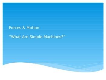 Forces & Motion, Lesson 3