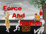 Forces and Motion PowerPoint Readers' Theater With Notes a