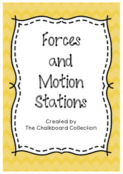 Science Stations Forces and Motion