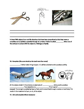Forces and motion End of Unit Quiz