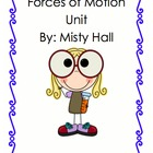 Forces of Motion/ Push and Pull Science unit