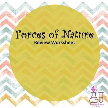 Forces of Nature Follow-the-Directions Review Worksheet
