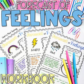 Forecast of Feelings workbook; understanding emotions; ang