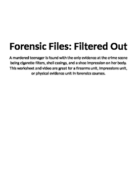 Forensic Files, Filtered Out