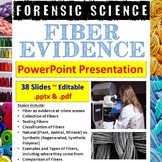 Forensic Science - Fiber Evidence PowerPoint Presentation
