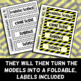 Forensic Science Vocabulary {Foldable} - Frayer Model Format
