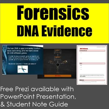 Forensics: DNA Evidence Lecture Presentation and Student N