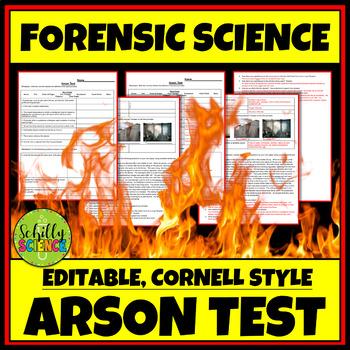 Forensics Test : Arson