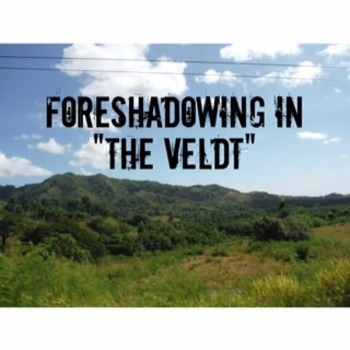 """Foreshadowing in """"The Veldt"""" by Ray Bradbury"""