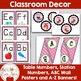 PINK Forest Animal Classroom Decor Package -OVER 110 PAGES