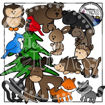 Forest Animal Clipart Bundle
