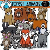 Forest Animals Clip Art Set - Chirp Graphics