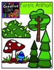 Forest Animals {Creative Clips Digital Clipart}