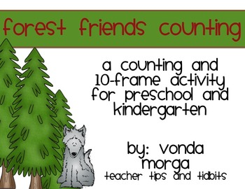 Forest Counting, Addition, and Ten-Frame practice