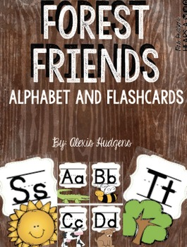 Forest Friends Alphabet