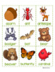 ALPHABETICAL ORDER Literacy Center: Forest Friends Edition