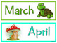 CALENDAR ICONS: Forest Friends Edition